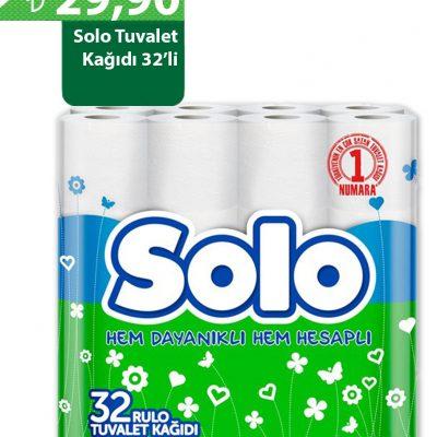 Solo 32'li Tuvalet Kağıdı